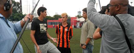 Esporte Espetacular e Paulo Henrique Ganso na Arena WS