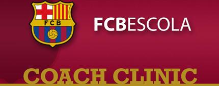 """FC BARCELONA ESCOLA """"COACH CLINIC"""" – Curso de Treinadores na ARENA WS"""