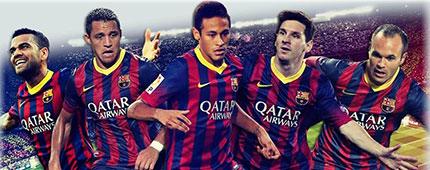 FC Barcelona Camp na Arena WS em Jan/2014