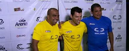 Vampeta e Anderson Lima jogam pelada em São Paulo