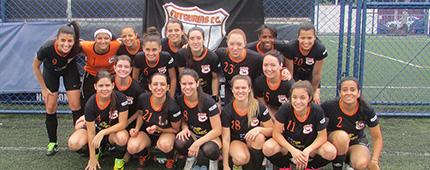 Futgurias F.C. na 1ª Copa Arena WS de Futebol Society Feminino