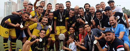 Borussia Fortaleza é campeão da Copa dos Campeões 2016 de Fut7