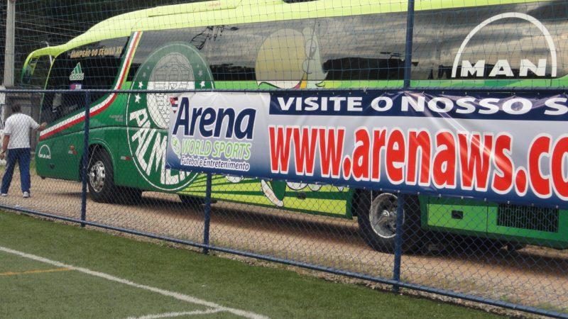 Treino do Futebol Profissional na Arena WS